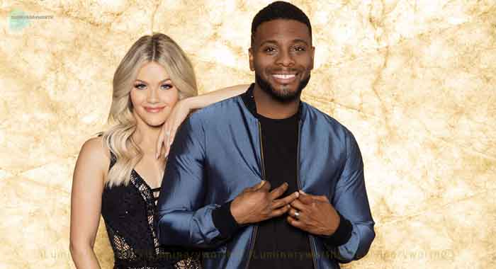 Kel Mitchell dancing partner Witney Carson