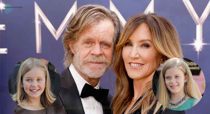 William Hall Macy family