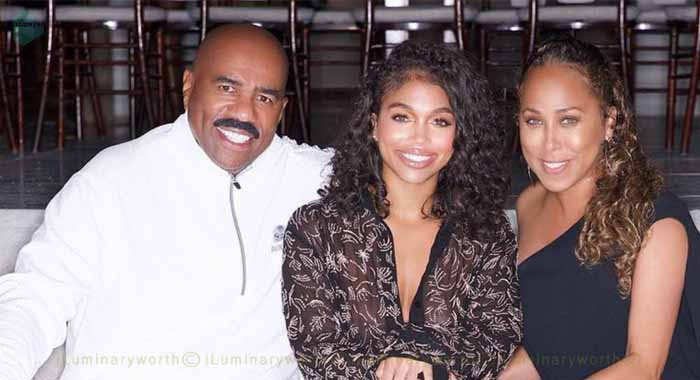 Steve Harvey's daughter