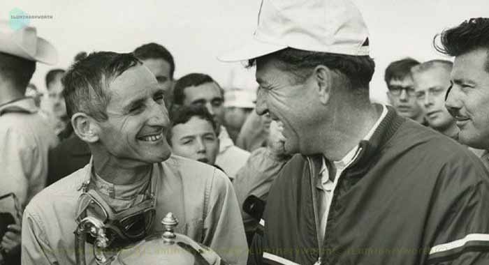 Carroll Shelby and Ken Miles