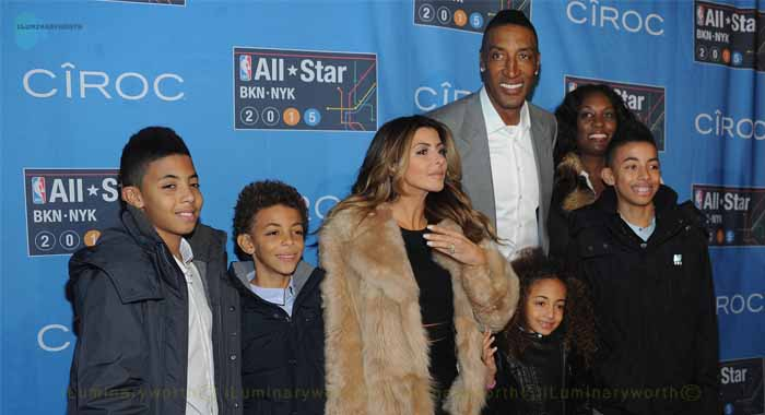 Scottie Pippen ex-wife Larsa