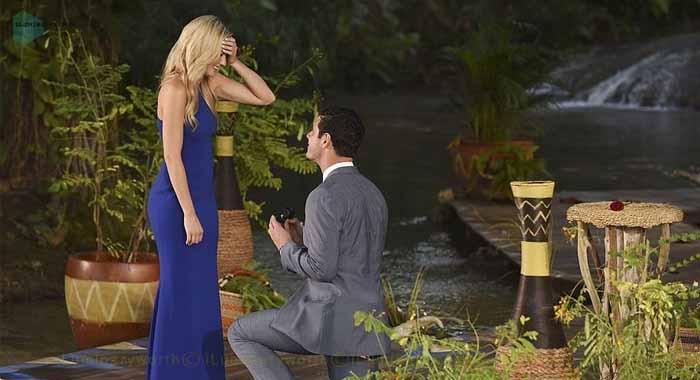 Lauren Bushnell in The Bachelor