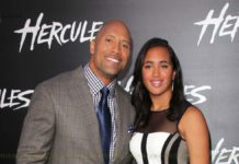 Dwayne Johnson daughter Simone Alexandra Johnson