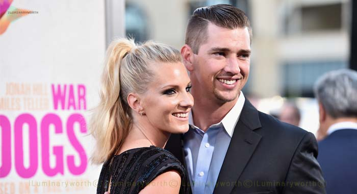 Heather Morris husband Taylor Hubbell