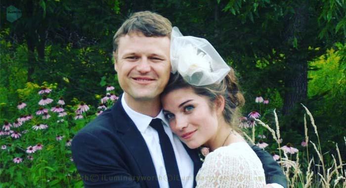 Annie Murphy's husband Menno Versteeg