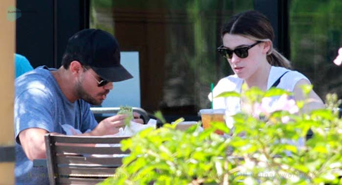 Taylor Lautner girlfriend Tay Dome