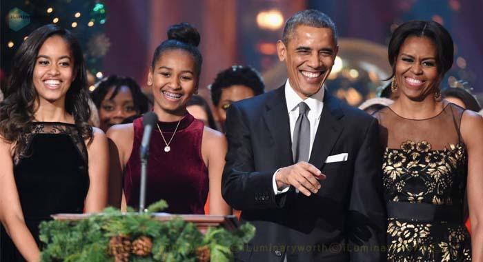 Barack Obama's daughter Sasha Obama