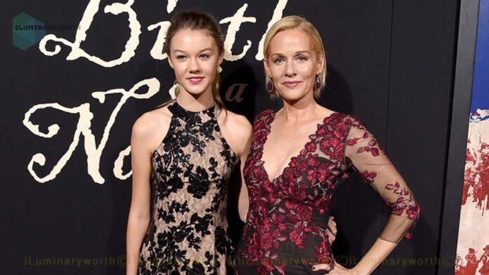 Penelope Ann Miller daughter Eloisa May Huggins