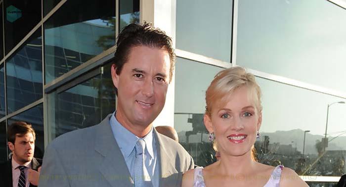 Penelope Ann Miller's husband James Huggins