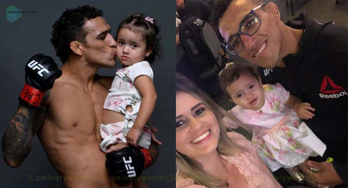 Charles Oliveira daughter Tayla