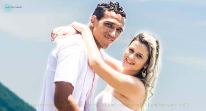 Charles Oliveira wife Talita Roberta Pereira