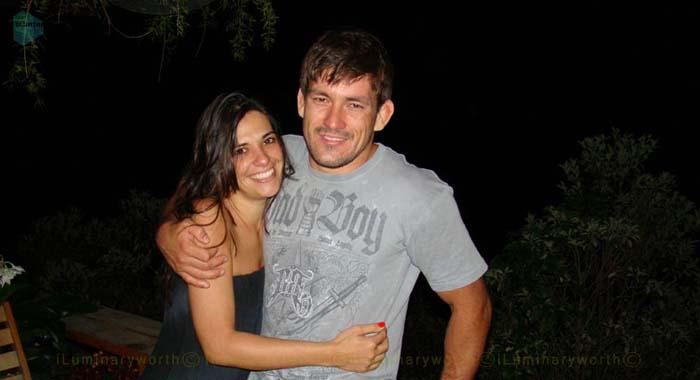Demian Maia wife Renata Vieira Maia