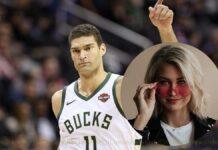 Brook Lopez girlfriend Hailee Nicole Strickland