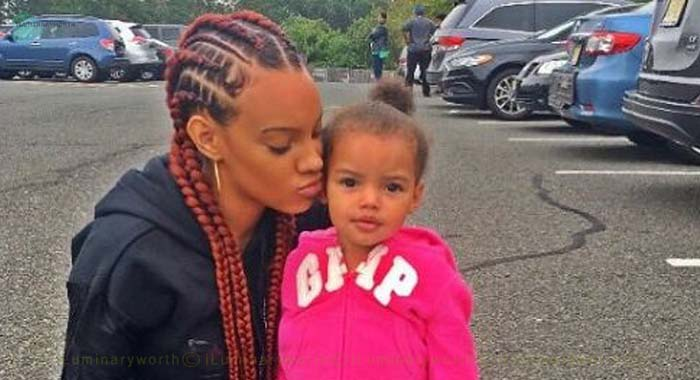 Fetty Wap's daughter Zaviera Maxwell