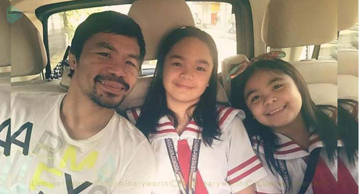 Manny Pacquiao's daughter Mary Divine Grace Pacquiao