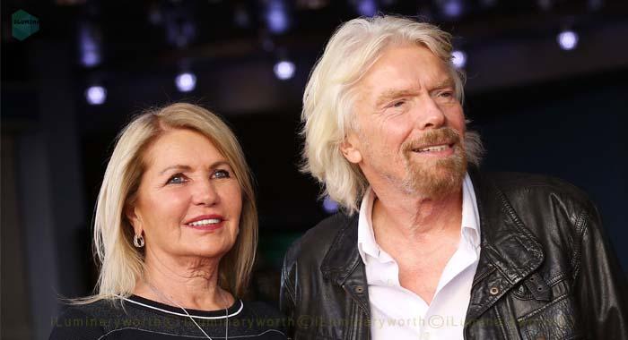 Richard Branson wife Joan Templeman