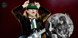 Angus Young wife Ellen Young