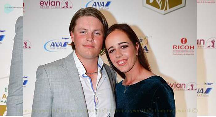 Georgia Hall's boyfriend Harry Tyrrell