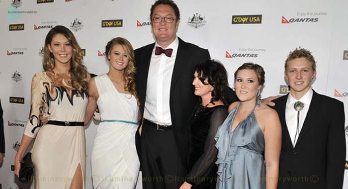 Luc Longley's daughter