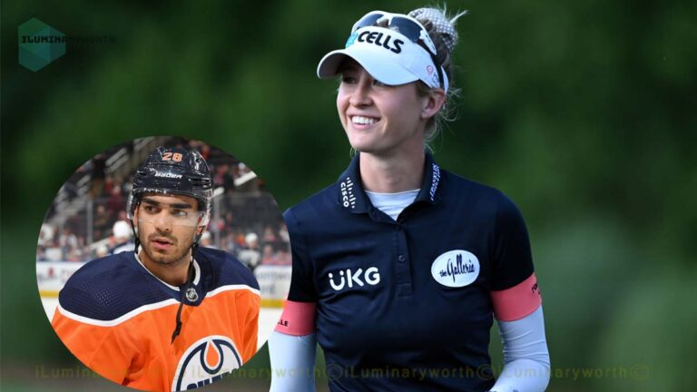 Know About Nelly Korda Boyfriend Andreas Athanasiou Who Is A Professional Hockey Player