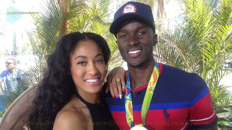 Olympian Champion Will Claye Wife Queen Claye Is A Former Sprinter And Hurdler