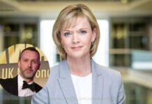 Julie Etchingham husband Nick Gardner