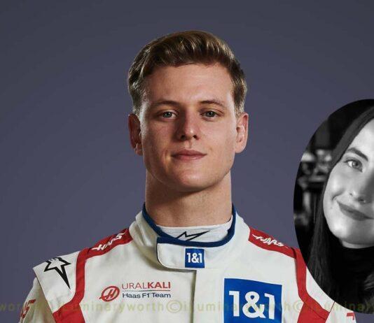 Mick Schumacher girlfriend Justine Huysman