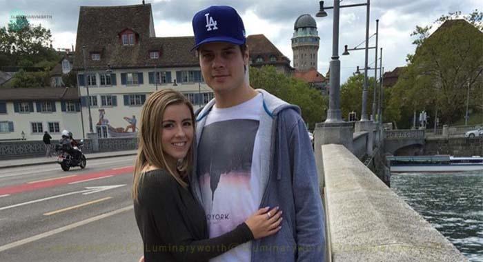 Auston Matthews girlfriend Emily Ruttledge